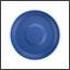 Base Ergogrip couleur bleu perle