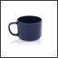 Tasse Ergogrip couleur bleu marine