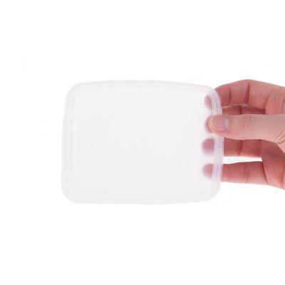 Couvercle jetable régulier pour bols rectangulaires (7 oz et 8 oz)