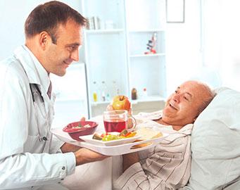 Vaisselle pour hôpital (produits commercial - Ergogrip)