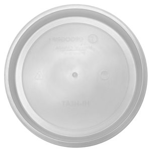 "Assiette 8"" Mono-usage Hi-Heat"