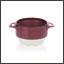 Ergogrip bowl burgundy (ivory base) colour