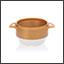 Ergogrip bowl gold (ivory base) colour