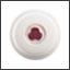 Ergogrip dome ivory (burgundy handle) colour