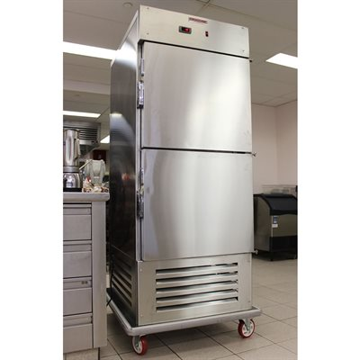Vertical refrigerator (air curtain)