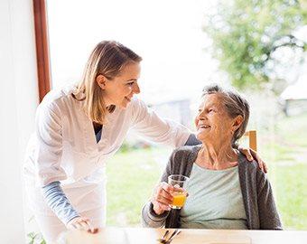 Long-term care (LTC) dishware